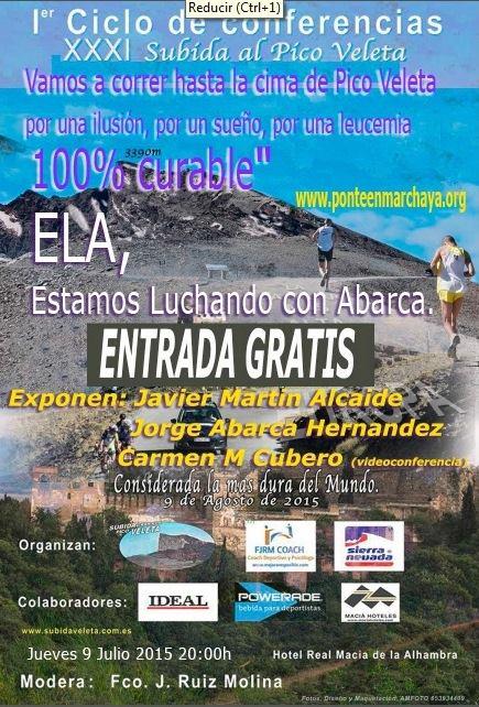 Conferencia XXXI Subida al pico Veleta